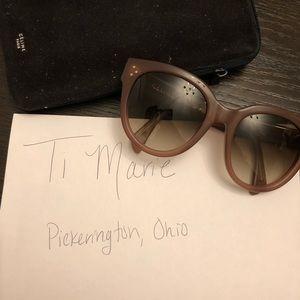 819ed4022c53c Celine Accessories - Celine Audrey sunglasses sunnies in nude